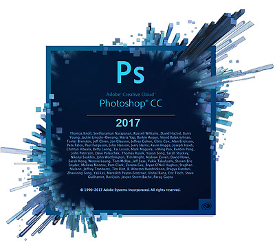 Adobe Photoshop 2017 CC MAC