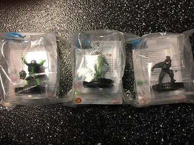 Heroclix Marvel Sinister Six Monthly Op Kit Doctor Octopus Rhino Mysterio