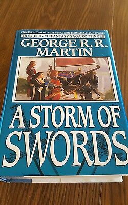 A Storm of swords by George R.R. Martin 1st edition 1st printing hardcover