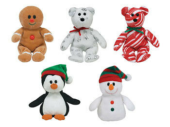 TY Jingle Beanie Babies - Holiday 2008 set of 5 (Walgreens Exclusives) (Chiller,