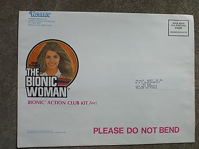 Bionic Woman! Unopened Fan Club Kit! Six Million Dollar Man. Kenner Toys 1974