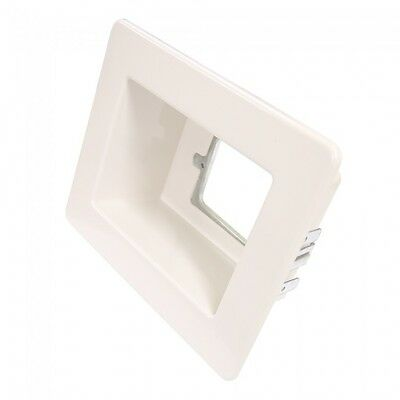 Flush Box Kit - White Wall Box / Recessed Outlet Point