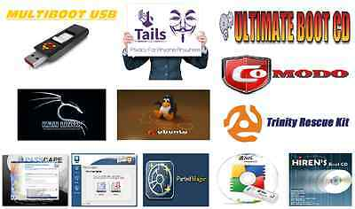 Multiboot USB for Anonymous Browsing, Privacy, Security Penetration and more