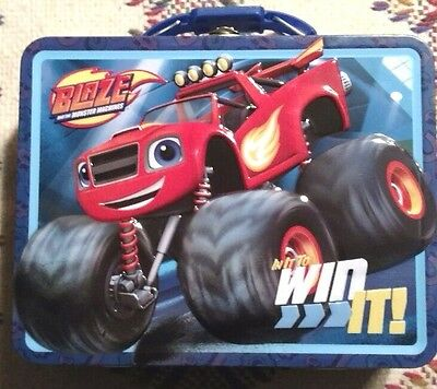 Blaze and the Monster Machines Lunch/Gift Box. Tin Box Co. NWT