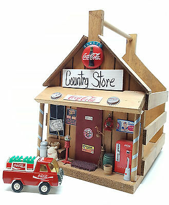 Vintage Rare Handmade Coca-Cola Country Store Crate Buddly L Coke Delivery Truck