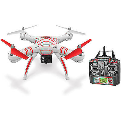 NEW RC Drone World Tech Toys Wraith Spy Drone 1080P HD Video Recording 2.4ghz