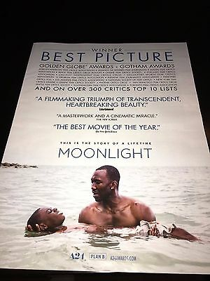 MOONLIGHT Oscar Globe Academy Award ad