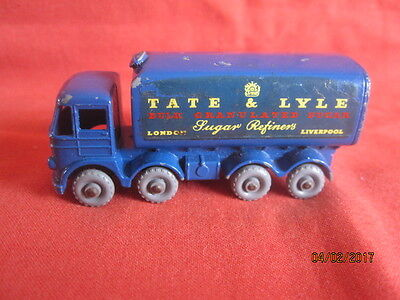 MATCHBOX  LESNEY  No ; 10 - 3D 15 TON FODEN SUGAR CONTAINER TRUCK