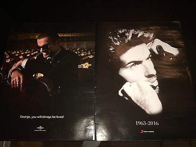 2 George Michael Dead Death ads  Hollywood Reporter Sony / Universal