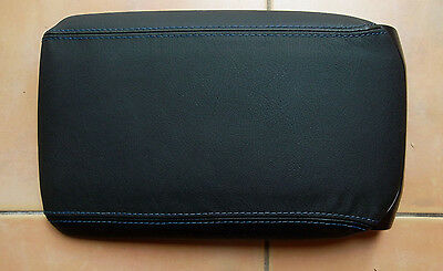 FORD FALCON FG XR50 blue stitched leather center console lid VGC