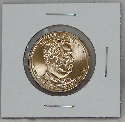 Chester A. Arthur 2012 D Presidential Dollar Coin Uncirculated Denver BU
