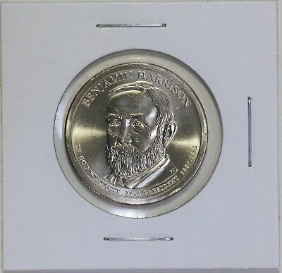 Benjamin Harrison 2012 P Presidential Dollar Coin Uncirculated Philadelphia BU
