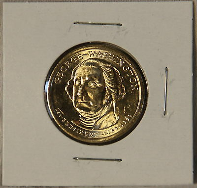 George Washington 2007 P Presidential Dollar Coin Uncirculated Philadelphia BU