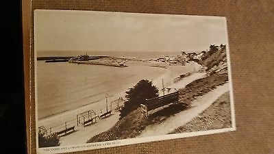 "LOT.229. "" THE COBB AND LANGMOOR GARDENS, LYME REGIS. No. 15744 "". UNPOSTED"