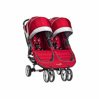 New 2016 Baby Jogger City Mini Twin Baby Double Stroller RED NEW 2016 *NOT GT***