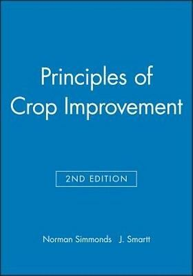 Principles of Crop Improvement by Norman Simmonds Hardcover Book