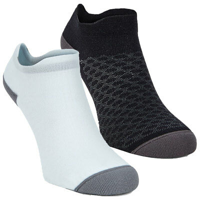 Ecco 2017 Active Low Cut Cushioned Performance Trainer Socks