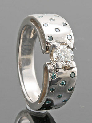 Design Diamond Ring - 0.60ct /  Bague Diamant