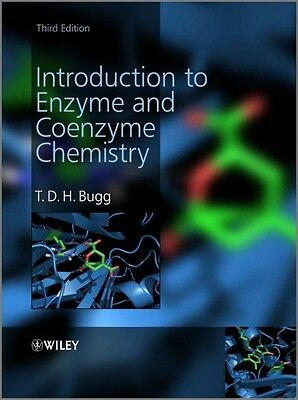 Introduction to Enzyme and Coenzyme Chemistry by T.D.H. Bugg Hardcover Book (Eng
