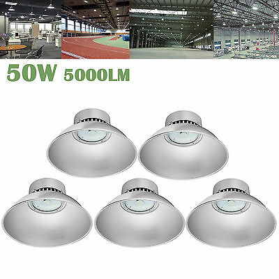 4X 30W LED High Bay Light Industrial Lamp Factory Warehouse Roof Shed Lighting