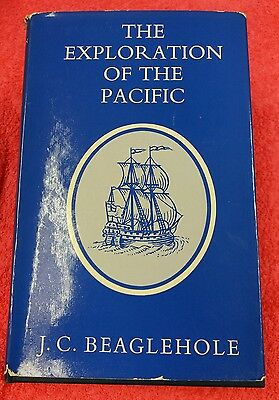 The exploration of the Pacific  by J.C. BEAGLEHOLE