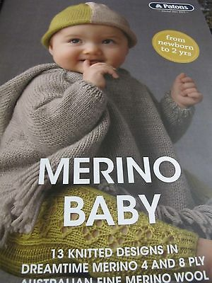 Patons Knitting Book,new 2017,no 1106,merino Baby,lovely Knits To Choose From