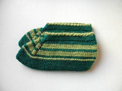 Bulgarian Hand Knitted Wool Slippers