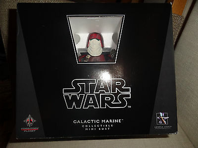 Galactic Marine Bust-Gentle Giant-Lucasfilm- world tour Excl-  new/ sealed