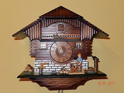 German 'Harzer' 8-Day 'Black Forest' Style Cuckoo Clock