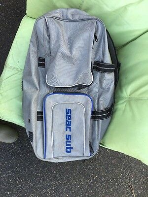 Seac Sub Bag With Shoulder Strap