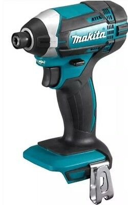 """MAKITA 18V LITHIUM ION CORDLESS 1/4"""" HEX IMPACT DRIVER DTD152 With Bits"""