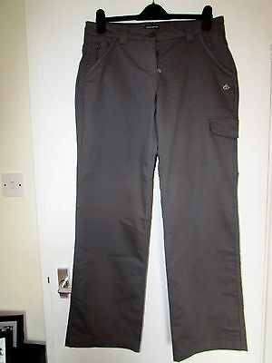 New Craghoppers Grey Ladies Walking Trousers, Size 14