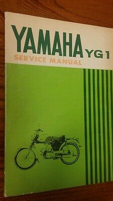 Yamaho YG1 Motorcycle Workshop Manual