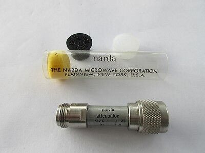 1 Midwest Microwave Coaxial fixed attenuator 20 dB DC - 12.4 GHz