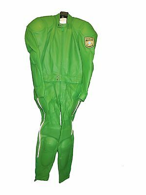 New Authentic Leather German motor Police uniform. Different sizes