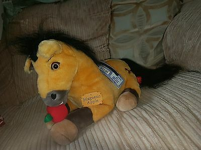 rare spirit stallion of the cimarron soft plush toy horse with tags dreamworks