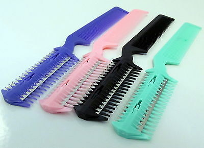 2 in 1 Professional Razor Comb- DIY Hair Extensions Thinning Trim Cutting Tool