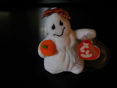 Ty Ghoulianne tiny ghostie Halloweenie Teenie Beanie Baby new with tags
