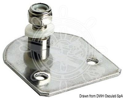 Osculati Plate With Threaded Pin