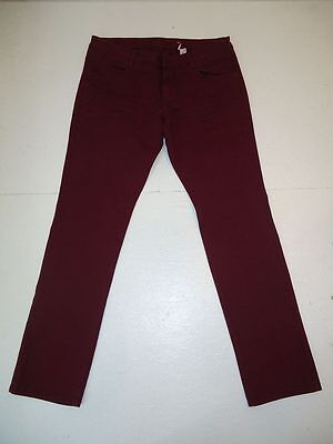 s.Oliver TUBE Stretch Jeans Hose Weinrot Gr.44 L32 SLIM FIT TOP ZUSTAND #02-7