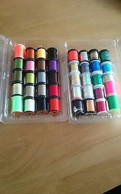 Salmon fly tying materials threads tinsel floss job lot