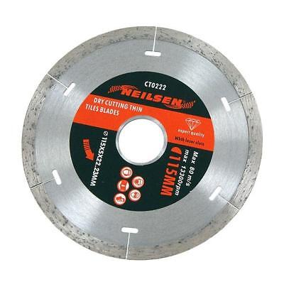 "115mm 4½"" Dry Cutting Tile Cutter Disc - Ceramic Granite Marble with laser slots"