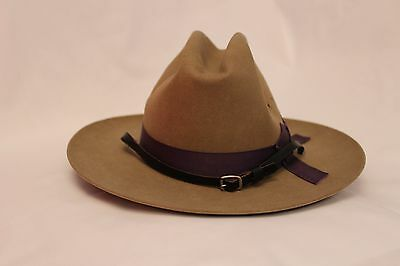 Obsolete Genuine New York Police Nypd State Troopers Hat. By Stratton Hats