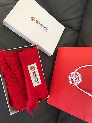 Manchester Vs Liverpool Scarf Vip Matchhday