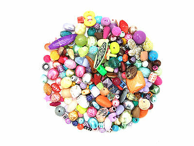 Assorted Mixed Acrylic Beads (Choice of Pack Sizes)