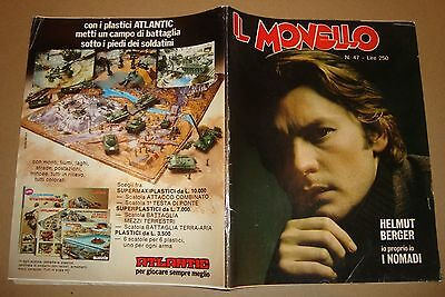 IL MONELLO 1974 47 HELMUT BERGER - PAUL McCARTNEY - I NOMADI - GHIBLI - NORTON