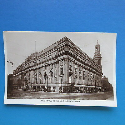 Old Postcard of The Royal Exchange, Manchester.
