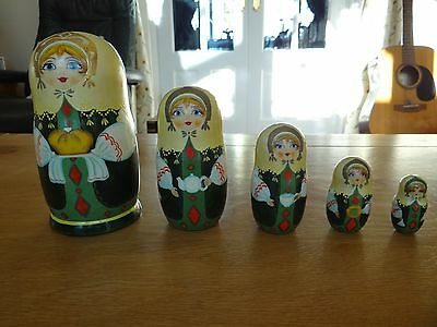 Russian Dolls Set of 5