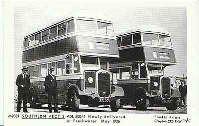 Transport Postcard - Southern Vectis - ADL 500/1 At Freshwater, May 1936   CC596