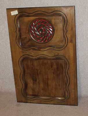 1900's  Single Breton Carved Oak Panel. Variety of uses.